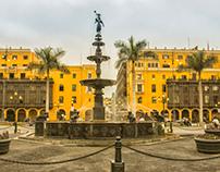 Plaza de armas de Lima - Día