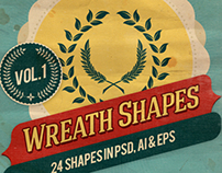 Wreath Shapes Vol.1