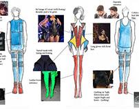 JUST DANCE 2017 - Beta Titanium ALTERNATE- costume
