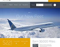 United Airlines Website Redesign