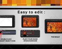 Pixelate Image Mockup