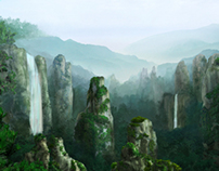 Digital Matte Painting