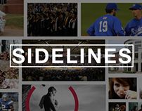 MTSU Sidelines | website & UI/UX