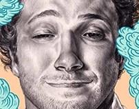 Front Magazine : Seth rogen portrait