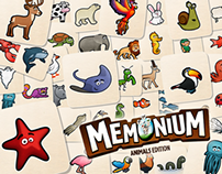 Memonium for iPad - Animals Edition