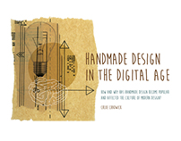 Handmade Design in the Digital Age - Dissertation