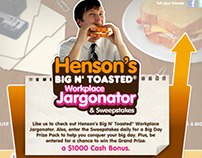 DD: Henson's Big N' Toasted Work Place Jargon