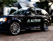 Alteve Hybrid Car Branding