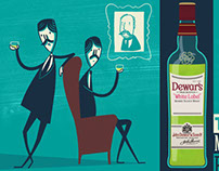 Dewars Whiskey - most invigorating animation (2013)