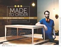 Custom Furniture Makers, Published Work