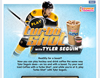 Dunkin' Donuts Turbo Shot with Tyler Seguin game