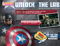 Unlock the Lab - Dunkin' Donuts & Marvel