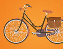 Retro Commuter - Illustration