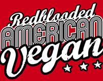 Tshirt Design - American Vegan, 2013