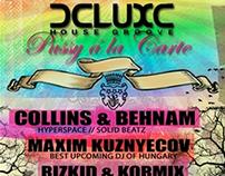 flyers ◆ dance music events & meetups