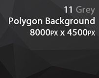 Grey Polygon Backgrounds