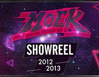 Showreel 2012-2013