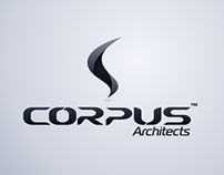 Visual identity Corpus Architects.