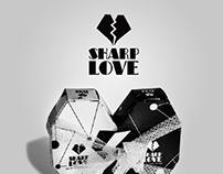 Sharp love.packaging