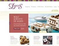 E-commerce Doces Momentos