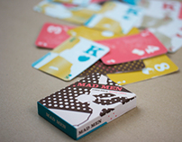 Mad Men Playing Cards