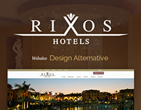 Rixos Hotels Website Design Alternative