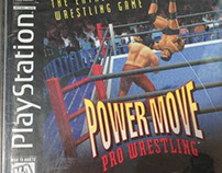 Powermove Pro Wrestling for the Sony Playstation