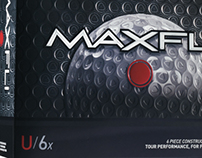 Maxfli U Series Golf Ball Packaging