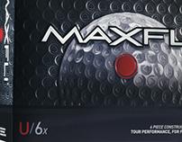 Maxfli U Series Golf Ball Packaging