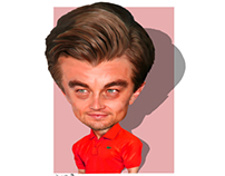 ليوناردو دي كابريو Leonardo DiCaprio كاريكاتير cartoon