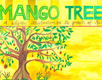 Sequential Art (Growth of a Mango Tree)