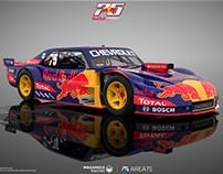 Chevrolet Chevy (Nova) TC Red Bull - 3D Concept