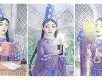 Wizard Princess Triptych