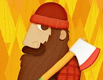 Cool Lumberjack