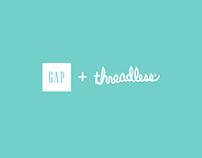 The Gap + Threadless