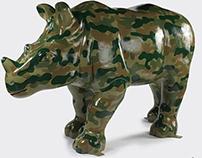 Wild Rhinos