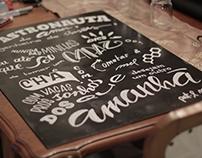 Minhas Bics • hand lettering