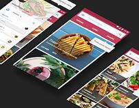 REEAT - App UI/UX