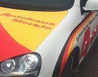 Autohaus Merkle, German Autoshop Rebrand
