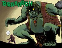 The Goblin King - Mini Comic
