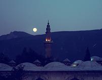 Rise of Moon in Bursa
