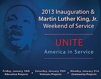 2013 Inauguration & Martin Luther King, Jr.