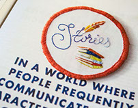 Design*Sponge Embroidered badges