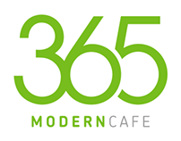 A modern cafe located in the heart of the city.