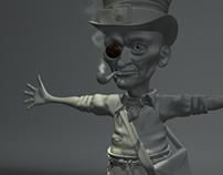 Modelado - Creación de personajes - Lidenbrock