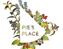 Pie's Place Logo Design