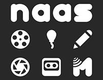 The naas Collaborative facet logos