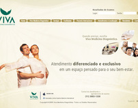 Viva Medicina DIagnóstica - Site