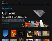 Organic.com Website Concept