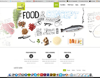 Food & Concept Online Identity
